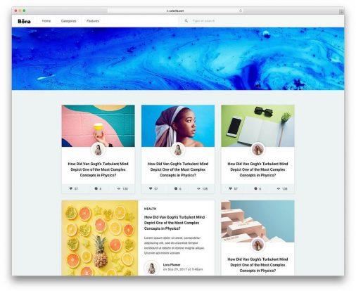 Free Blog Templates
