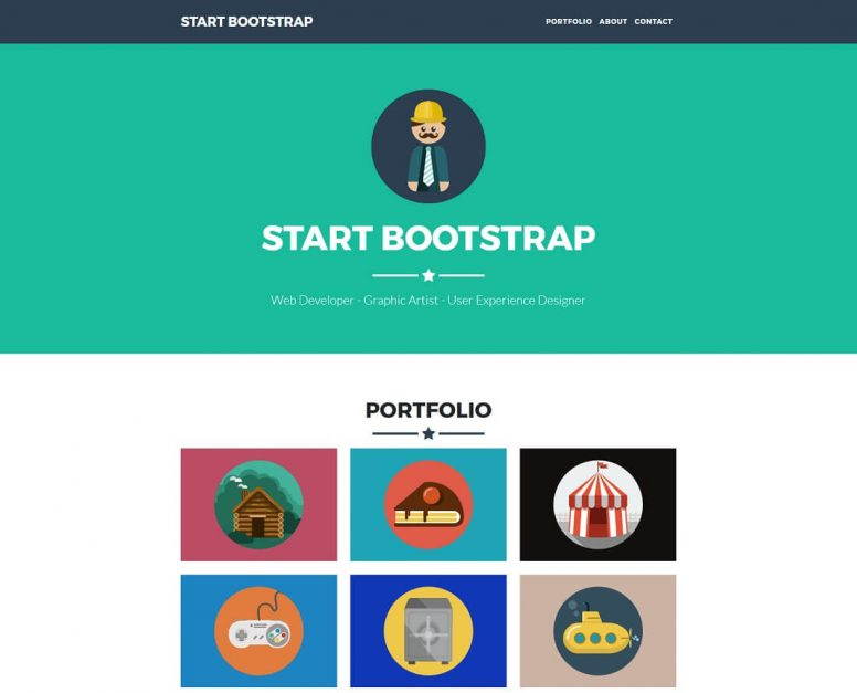 18 Top Free Bootstrap 4 Website Templates 2017