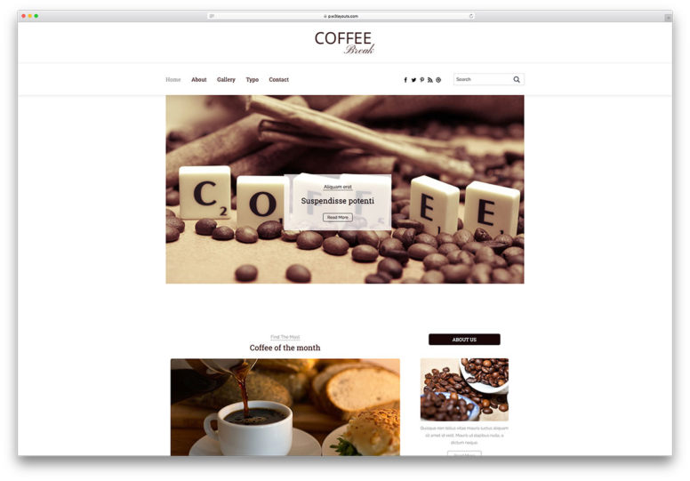 website templates archives page of colorlib top 25 best bootstrap blog templates coded using html5 and css3 2017