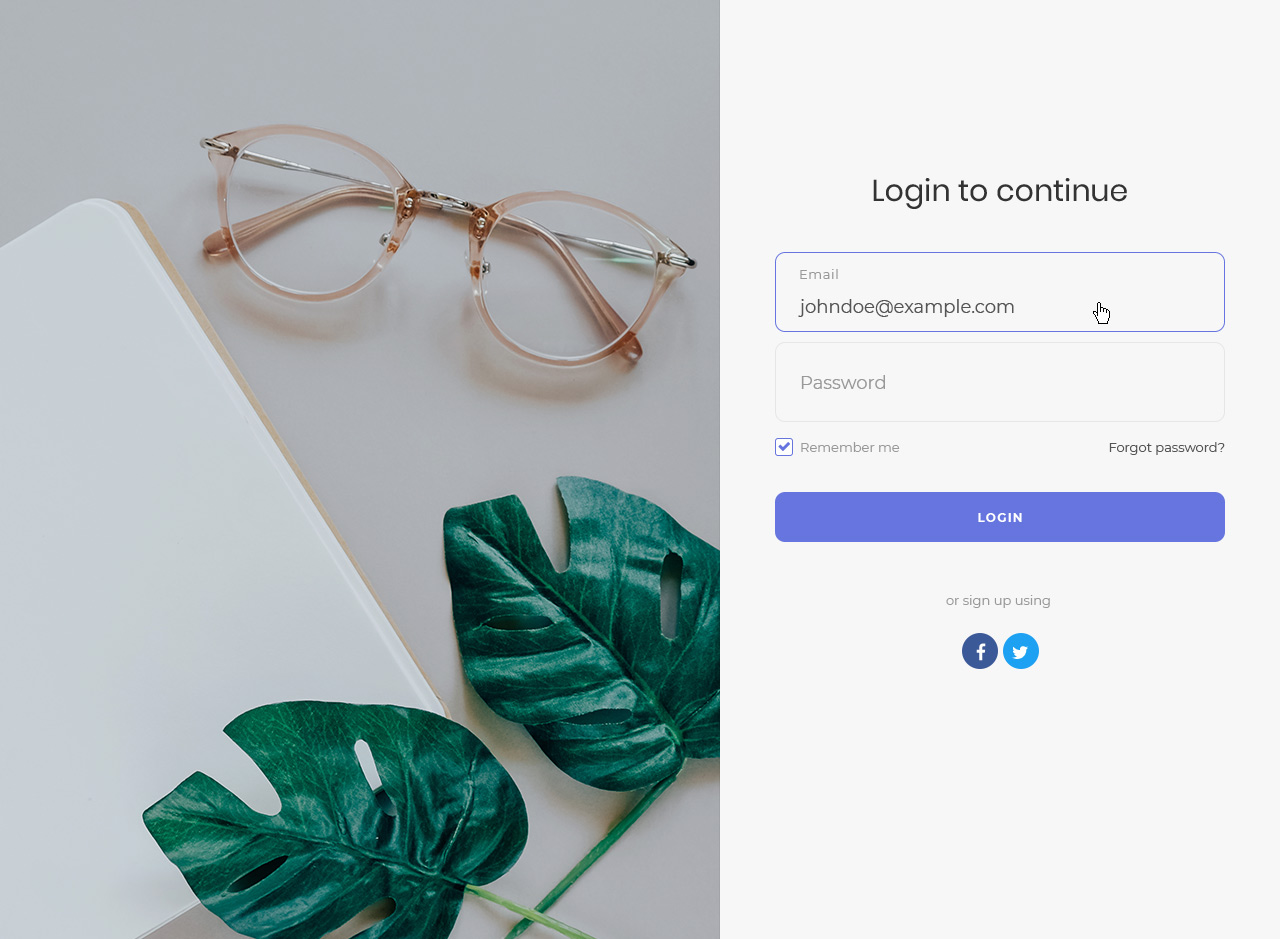 20 Free Bootstrap Login Forms To Maximize User Experience