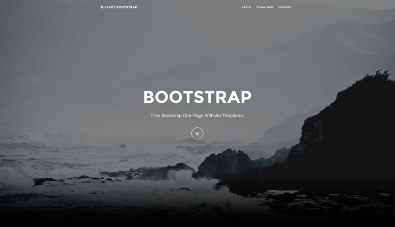Top 40 Free One-Page Website Templates Built With Bootstrap 2017