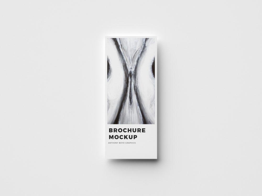 free brochure cover mockup psd