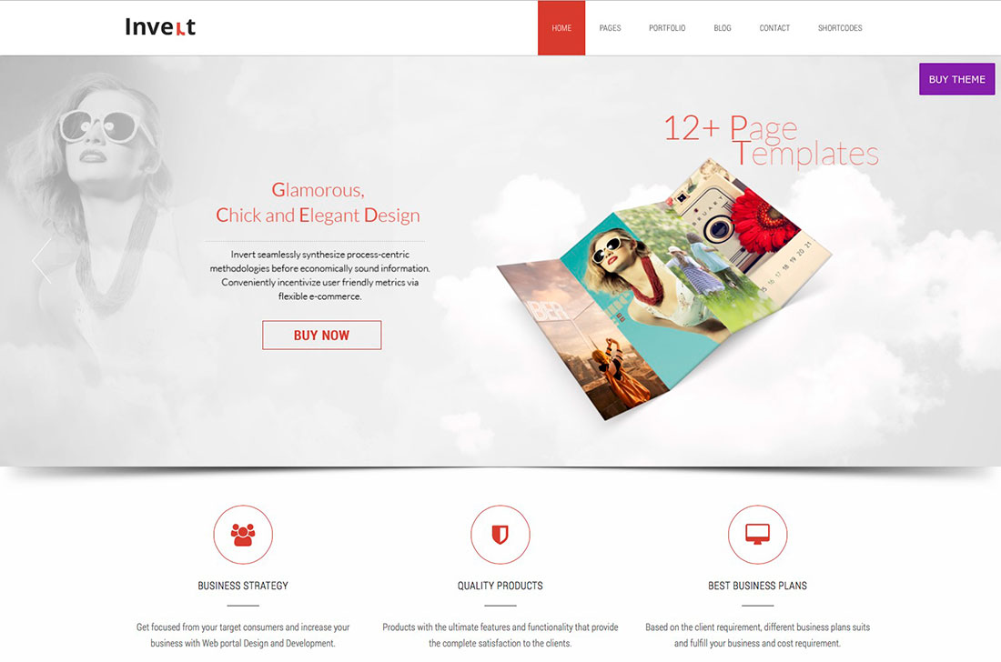30+ Free Responsive WordPress Business Themes 2014