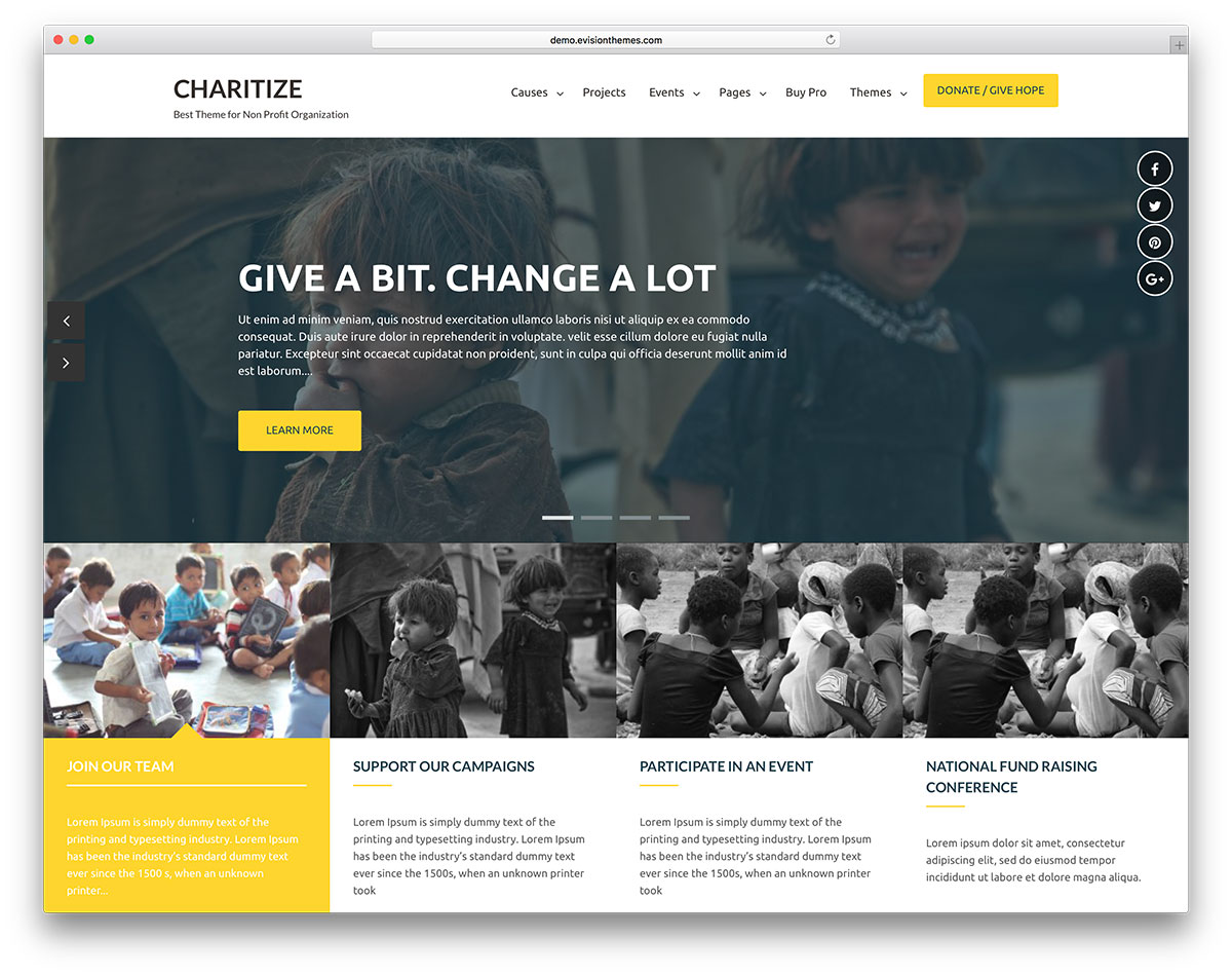 20 Free Charity Wordpress Themes For Your Foundation Or Ngo Colorlib