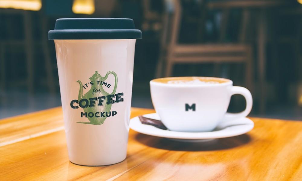 free coffee mug psd