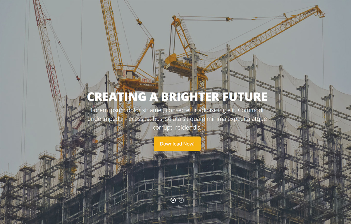 24 Best Free Construction Website Templates To Build A Strong Online Presence 2018