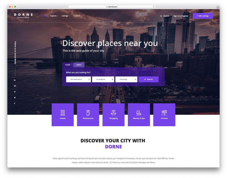 15 Best Free Directory Website Templates 2018