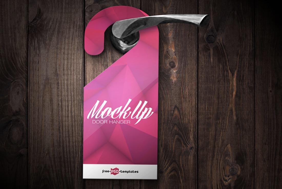 22 Door Hanger Mockup Templates 2019 Colorlib