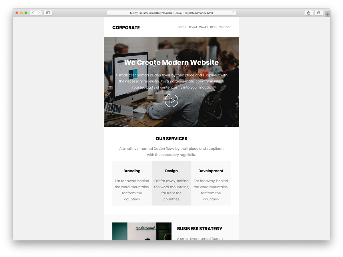 Top 31 Free & Paid MailChimp Email Templates 2019 - Colorlib