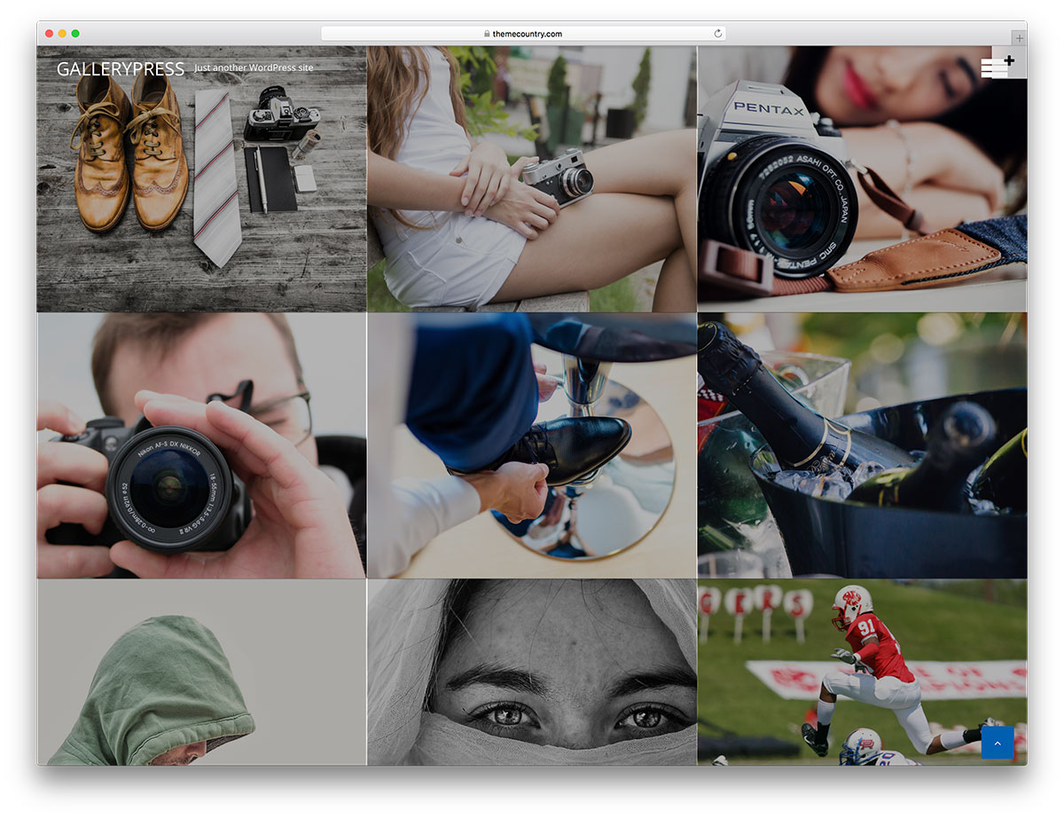 22+ Free Gallery WordPress Theme for your Portfolio Website 2018 ...