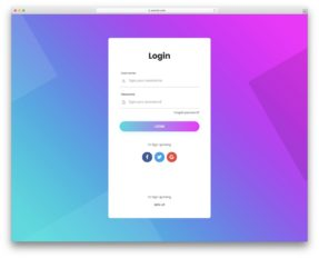 Html5 And Css3 Login Forms