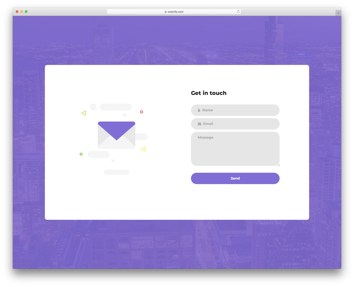 Free Html5 Contact Form Templates