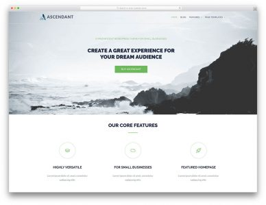 Free Landing Page WordPress Themes