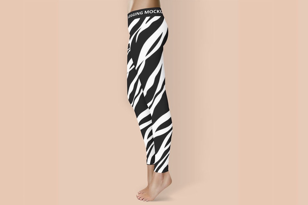 free leggings psd mockup