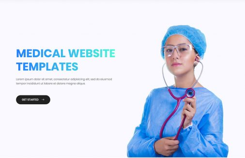 Free Medical Website Templates