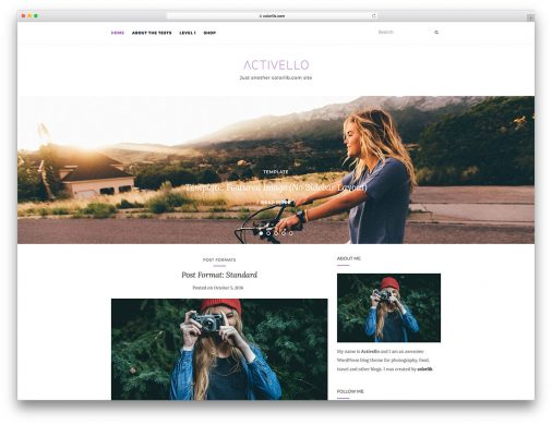 Free Minimialist Wordpress Themes