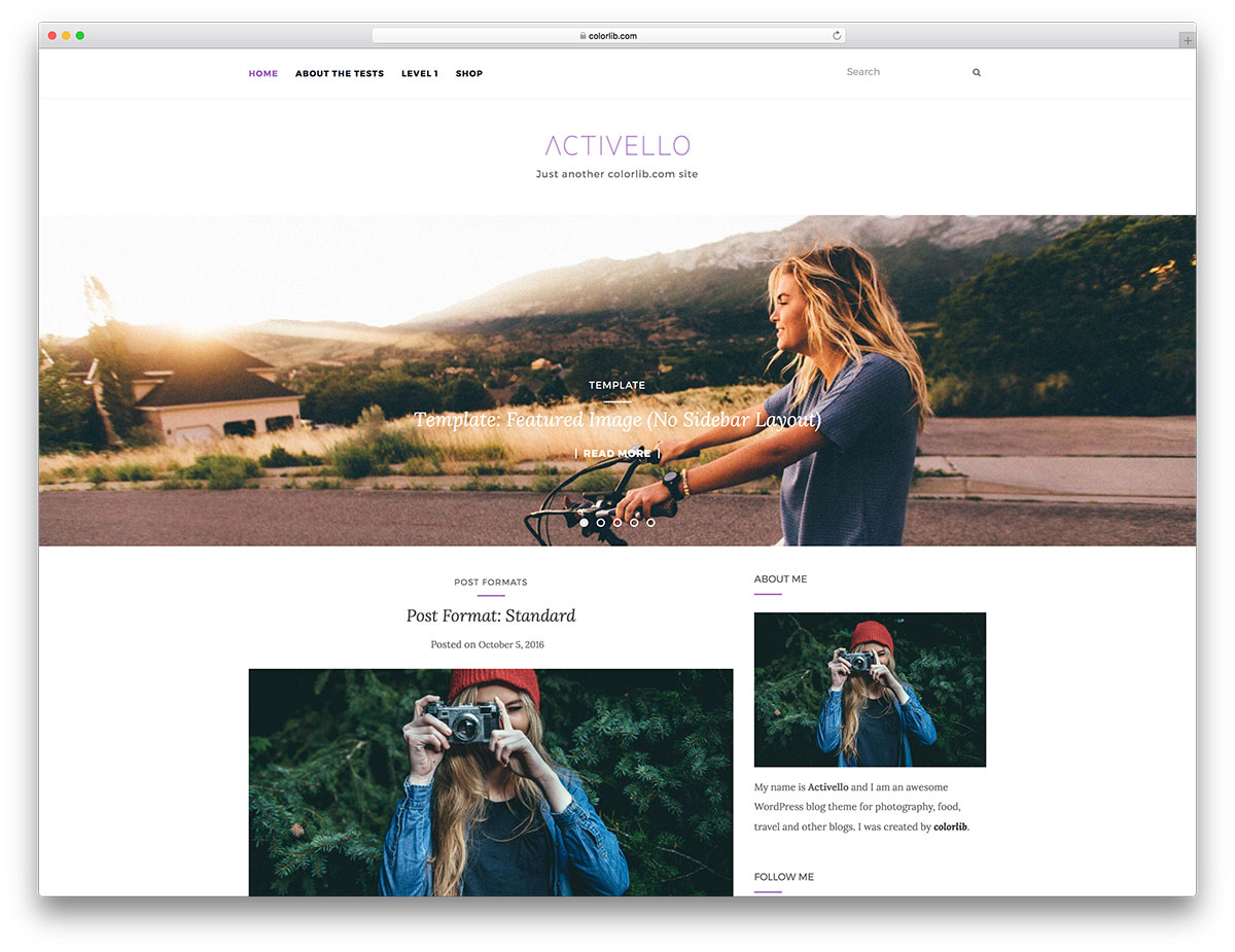 30 Most Popular Free Minimalist WordPress Themes 2018