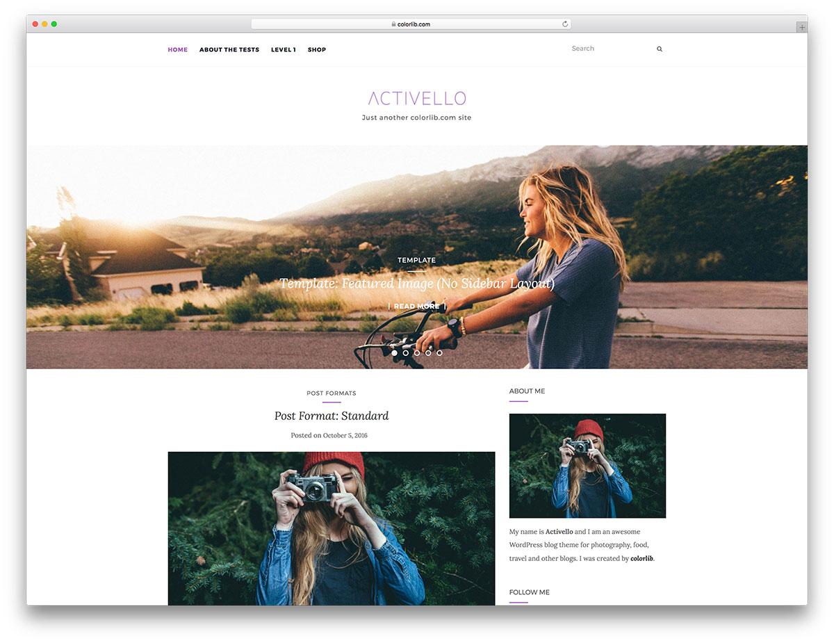 0701f93ead6b1 30 Most Popular Free Minimalist WordPress Themes 2018 - Colorlib