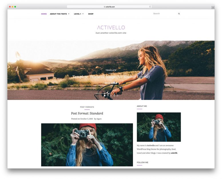 19+ Free Nature Inspired WordPress Themes 2017