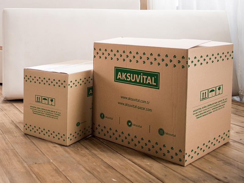 free packaging box mockup psd