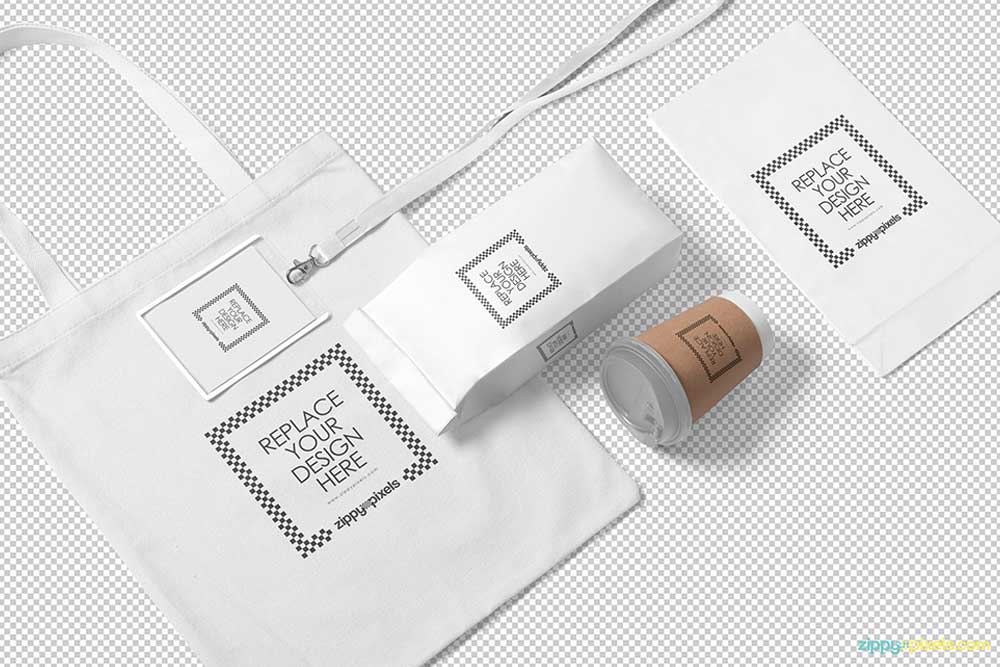 free packaging mockup in psd