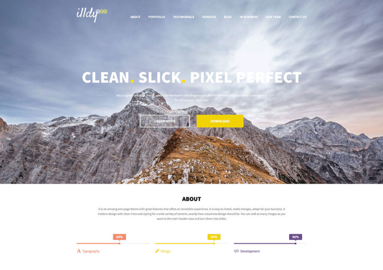 20 Free Parallax Scrolling WordPress Themes With Parallax Background, Header Images, Sliders And More – 2018