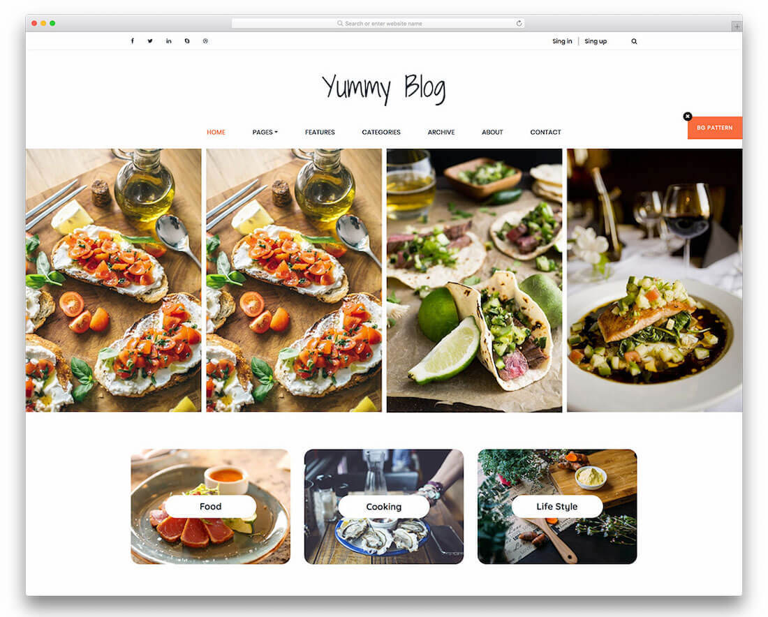 20 Free Photography Website Templates 2018