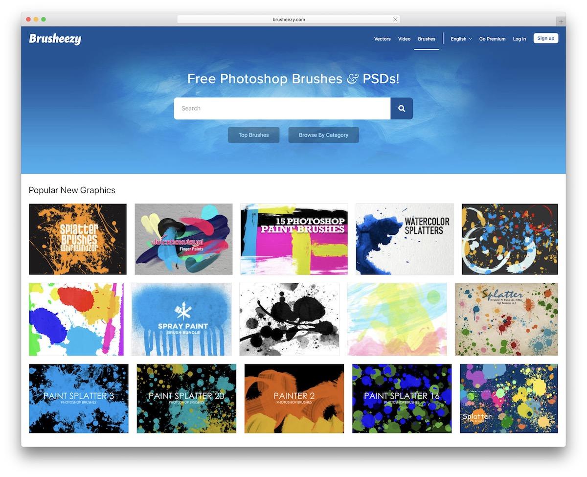 Free Photoshop Brushes Resources