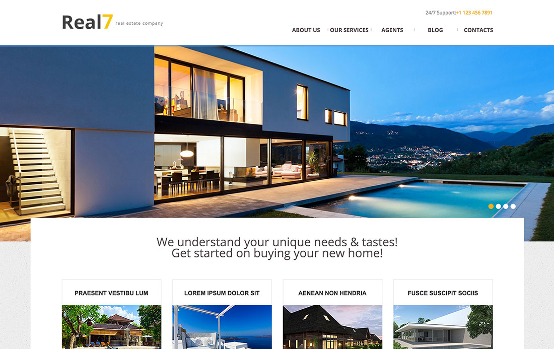 35+ Free & Premium WordPress Themes For Real Estate, Photography And Other Businesses