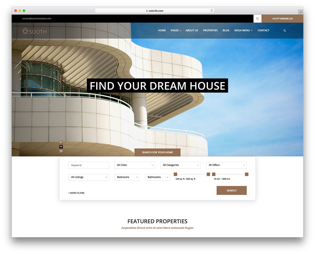 20 Best Free Real Estate Website Templates For Real Estate Companies And Realtors