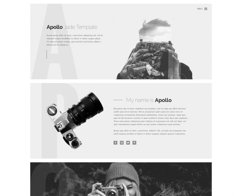 31 Free Simple Website Templates For Clean Sites Using HTML & CSS 2018