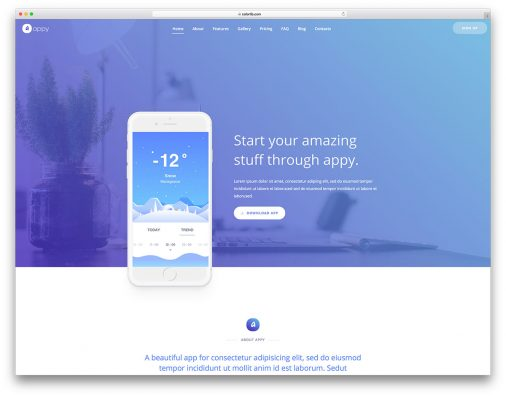 Free Simple Website Templates