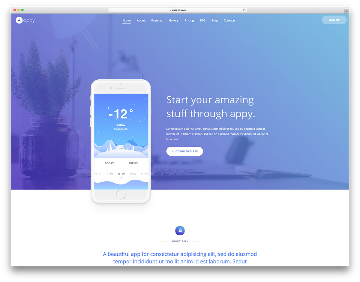 72 Free Simple Website Templates For Clean Sites Using HTML
