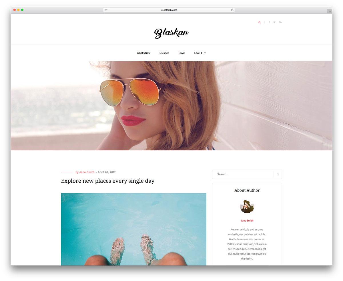 30 Best Free & Simple WordPress Themes 2019