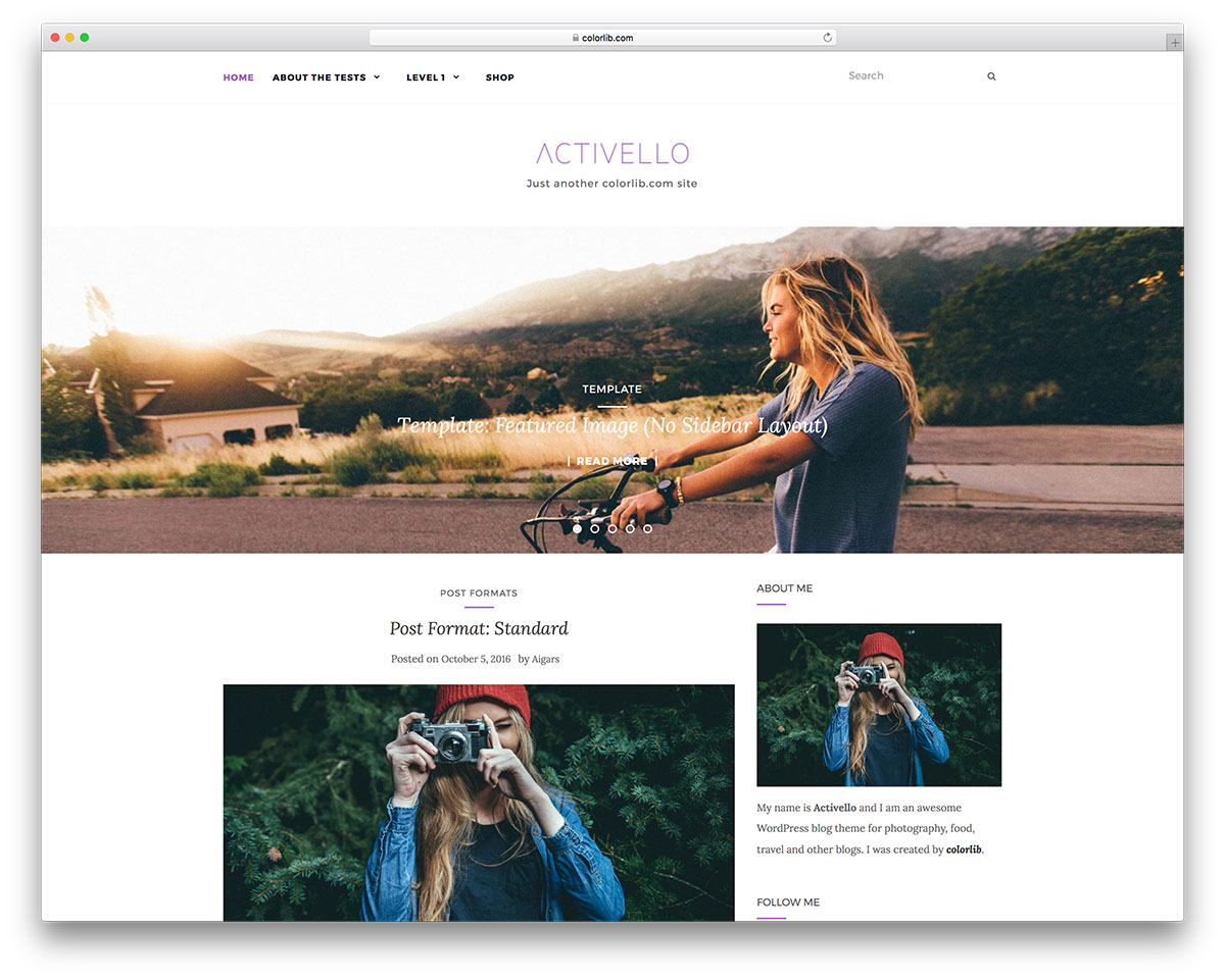 39 Free Wordpress Themes With Slider 2018 Colorlib