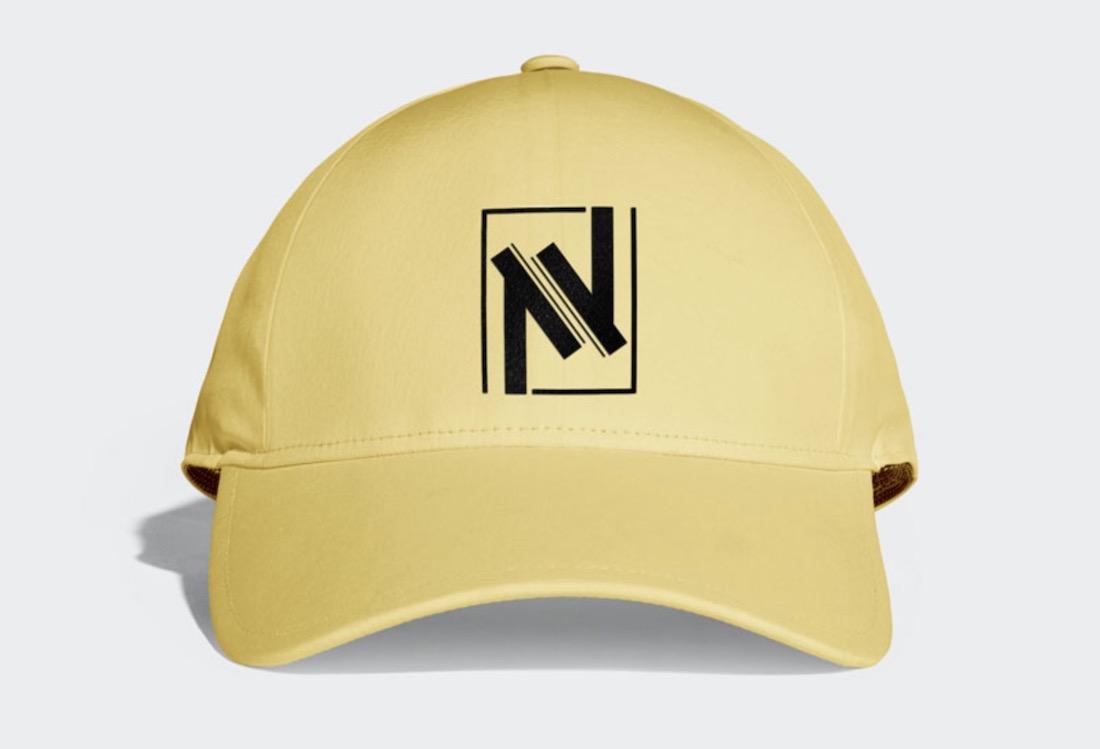 free trendy cap psd mockup