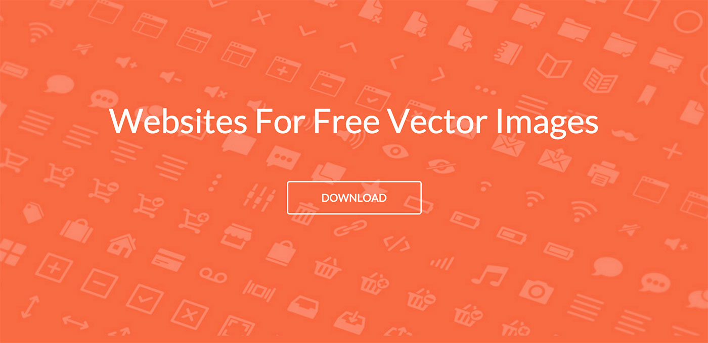 Top 24 Websites For Free Vector Images For Designers 2018