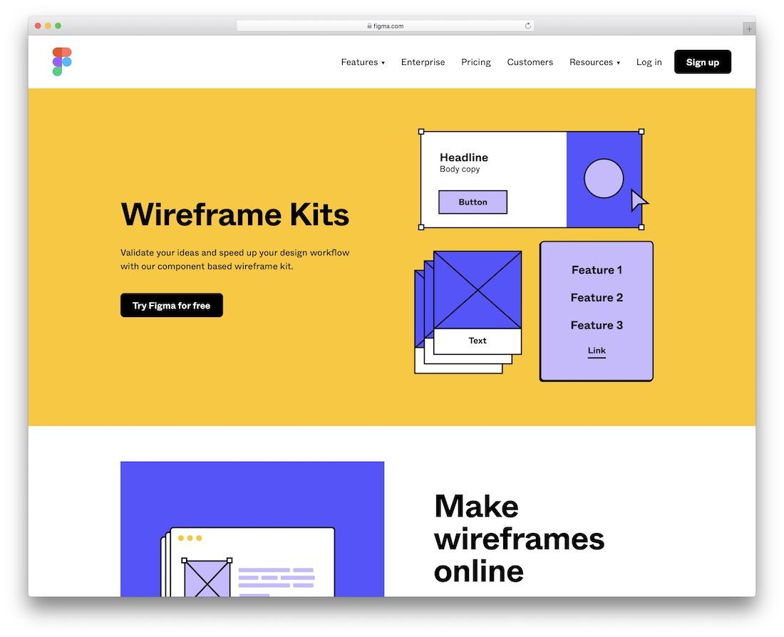 free wireframe kits