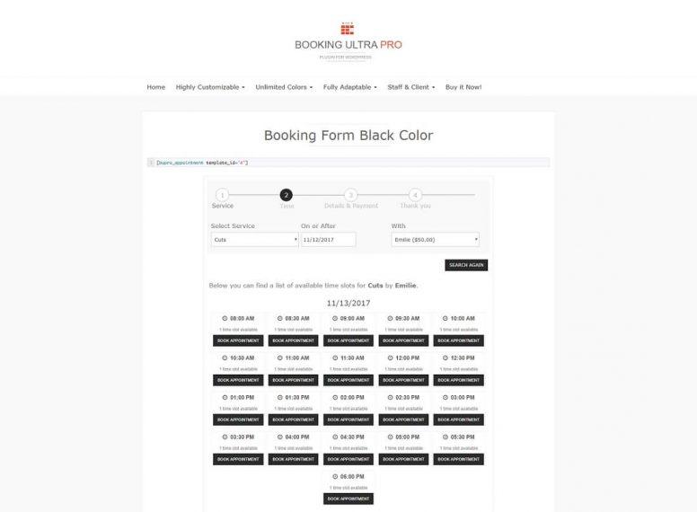 Free Wordpress Booking Plugins