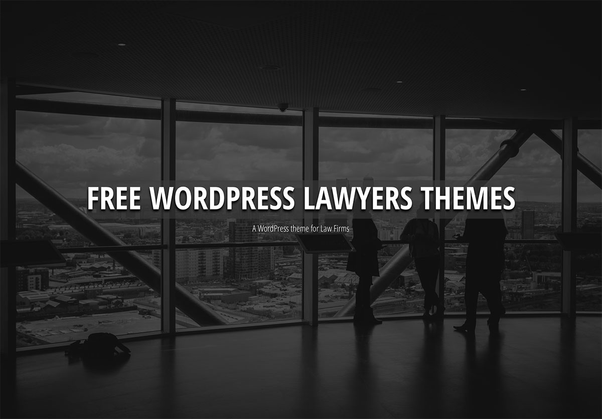 20 Free WordPress Themes For Law And Attorney Sites