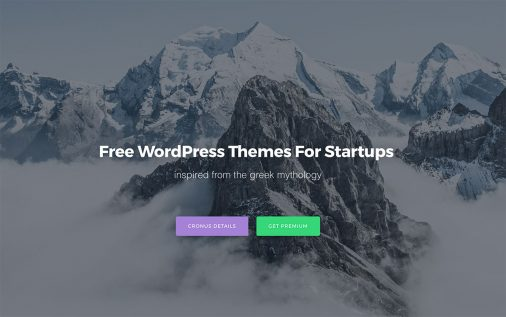 25 Best Free WordPress Themes For Startups 2017