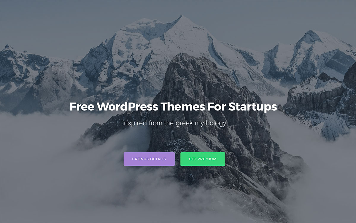25 Best Free WordPress Themes For Startups 2018