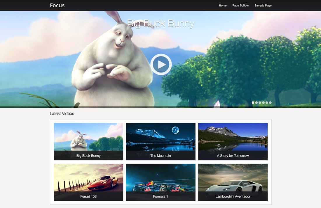10 Free WordPress Video Themes for Self-Hosted and Embedded Videos 2014