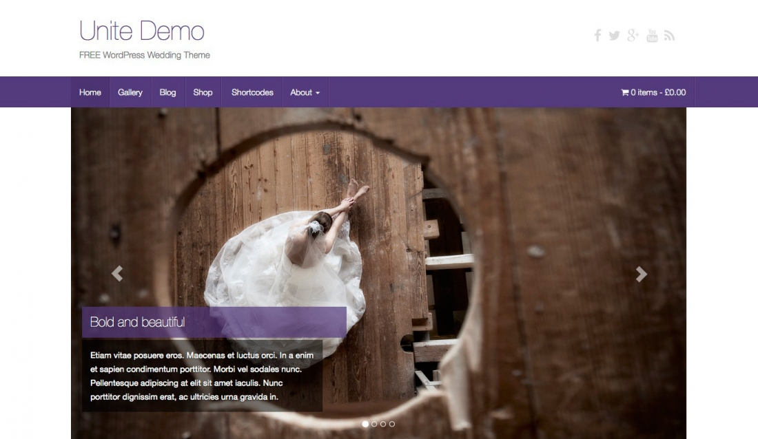 More Than 20 Beautiful, Reponsive and Free WordPress Wedding Themes 2014