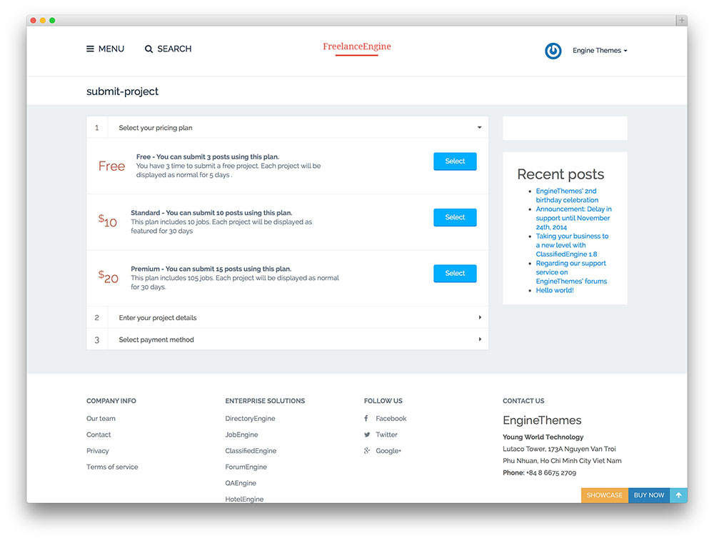 freelanceengine - mico job board