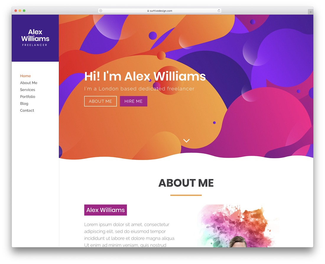 freelancer divi child theme