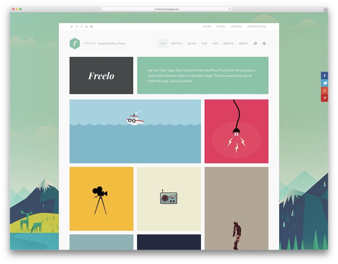 freelo cute wordpress theme
