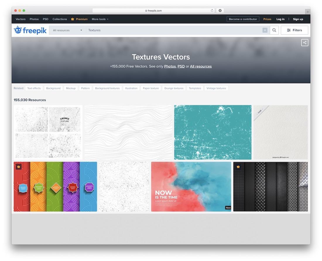 freepik free textures resource