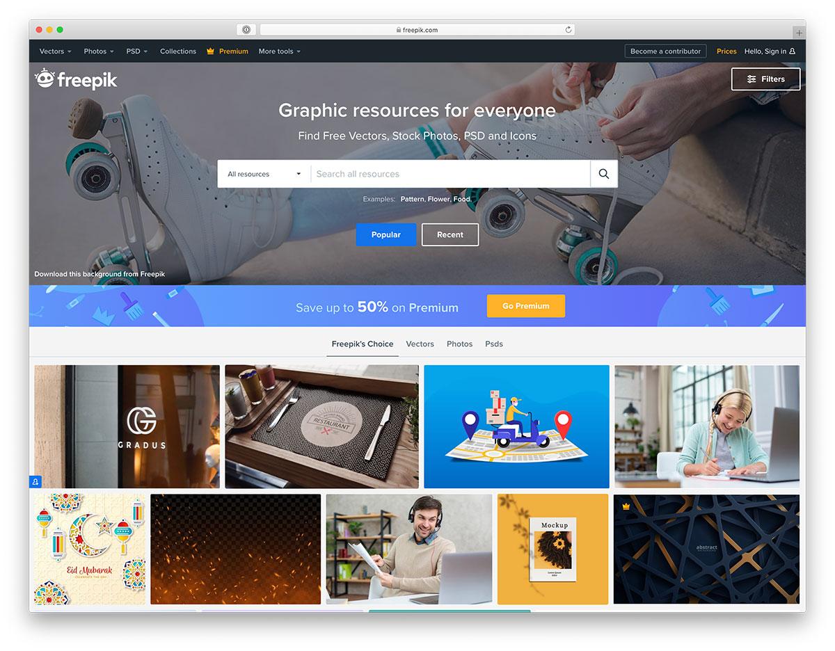 free vector image website