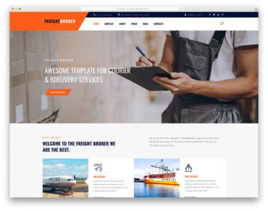 Freightbroker Colorlib Template